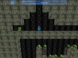 Level One. You're the blue guy in the middle and thats a green diamond to your left.