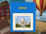 Splash screen for your travel to India.