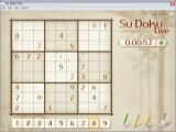 A typical sudoku puzzle.