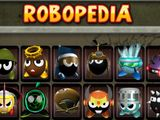 Check the Robopedia for vital info on your robots - and the enemies.